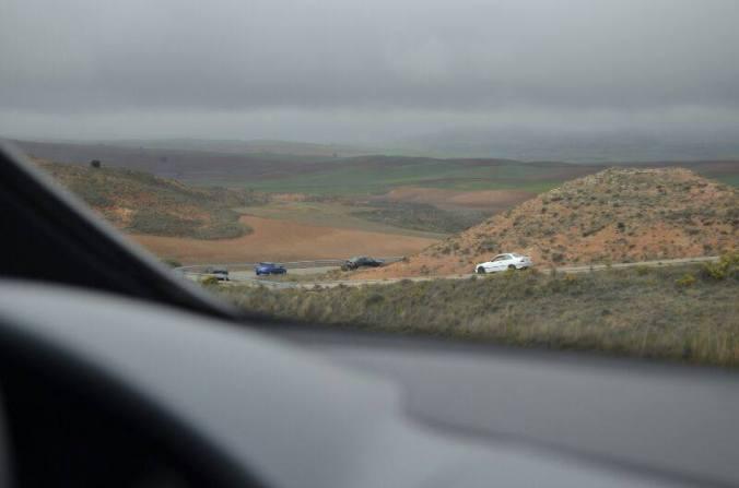 Un ejemplo de las carreteras que visitaremos! Foto de la KDD del año pasado